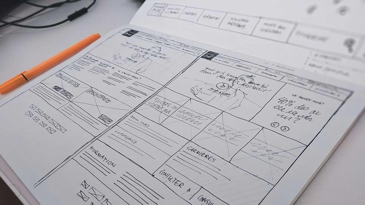 طراحی وایرفریم و مراحل آن
